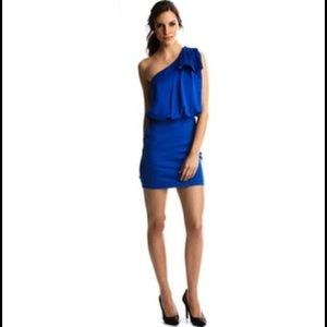 Armani Exchange one shoulder dress